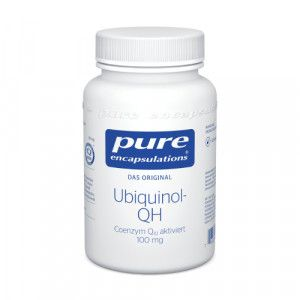 PURE ENCAPSULATIONS Ubiquinol QH 100 mg Kapseln